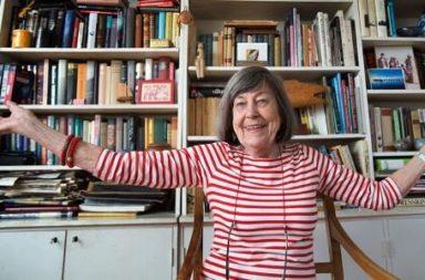 Biblioteca, Margareta Magnusson, Idosa na , Nov17