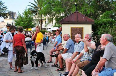 Cidade para Idosos na Florida, The Villages, Dez17